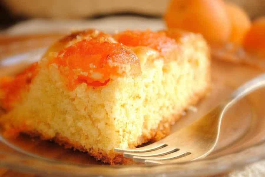 Gâteau moelleux aux abricots avec thermomix