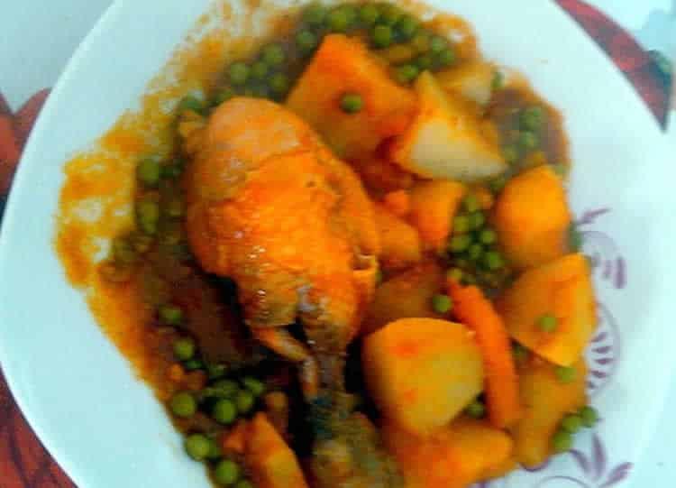 Tajine de poulet facile au thermomix