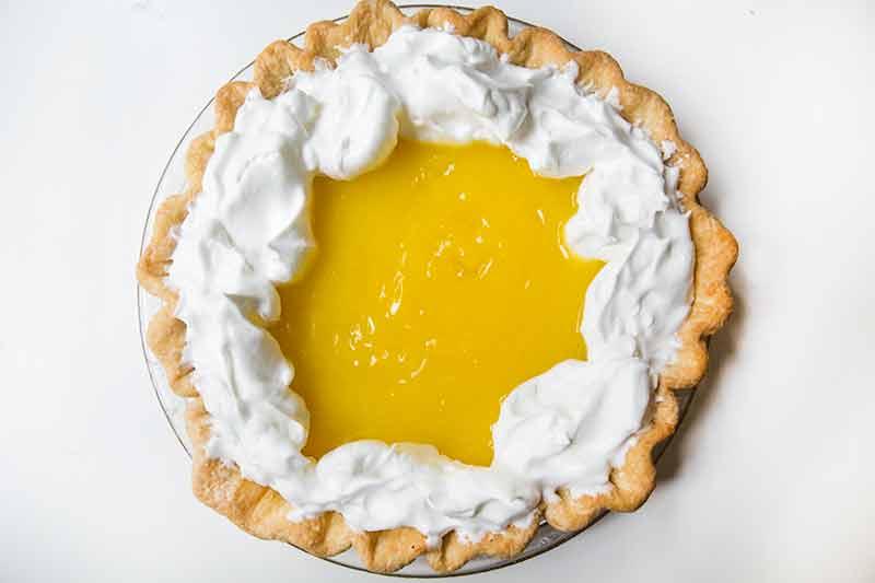 Tarte au citron rapide avec thermomix