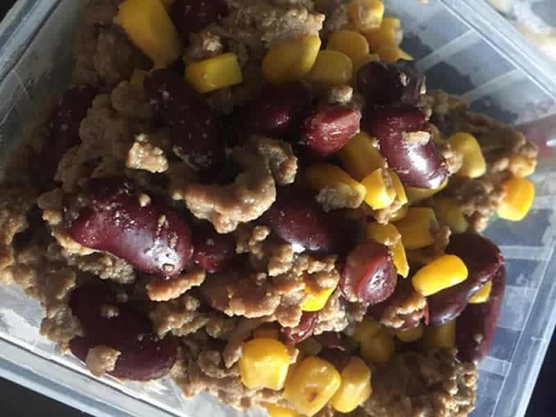 Bœuf aux haricots rouges et épices mexicaine au Cookeo