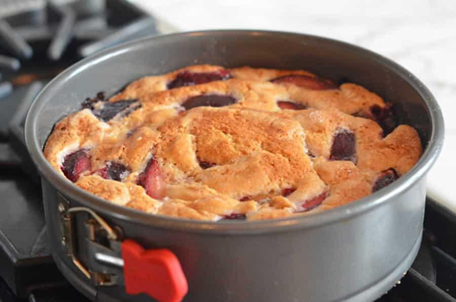 Gâteau aux mirabelles avec thermomix