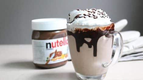 Nutella Milkshake au thermomix