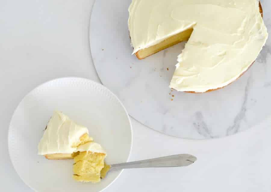 Cake au chocolat blanc avec thermomix
