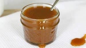 Sauce au caramel salé facile avec thermomix