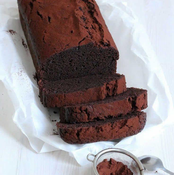 Cake au chocolat healthy avec thermomix