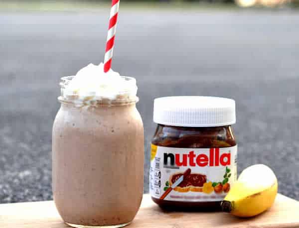Milkshake banane nutella au thermomix