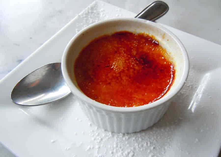 Crème brûlée de tomates au thermomix