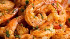 Crevettes apéritives au thermomix