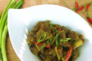 Curry de chèvre au cookeo