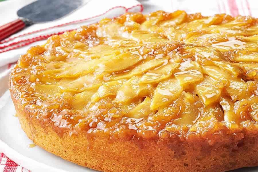 Gâteau aux pommes sans gluten avec thermomix