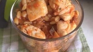 Poulet ebly à la bolognaise et champignon au Cookeo