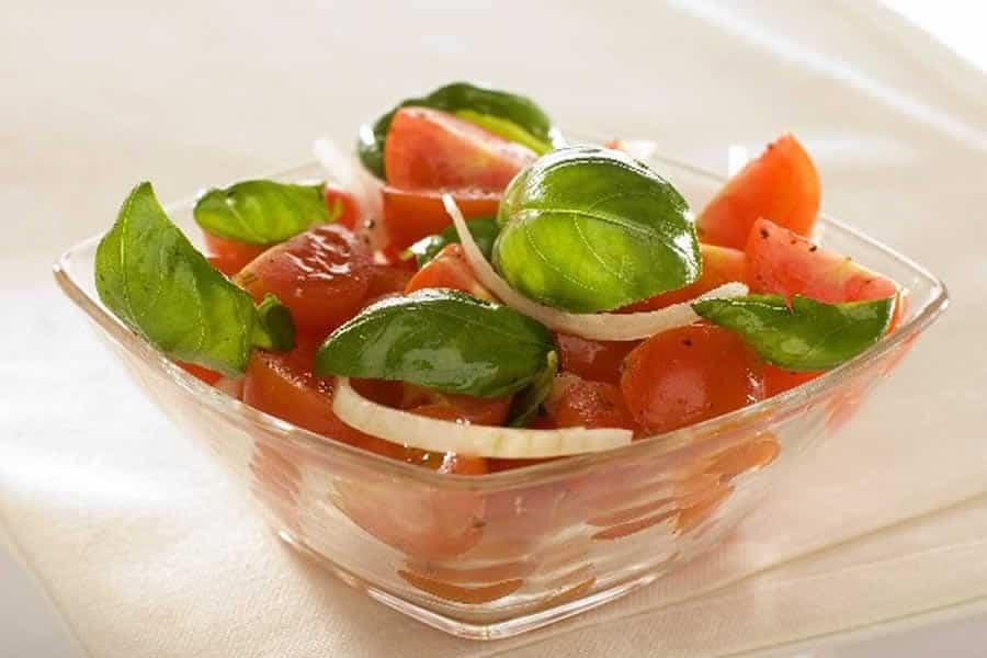Salade tomate et oignon recette weight watchers