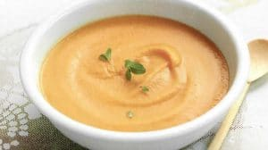Velouté de Patate douce et orange au thermomix