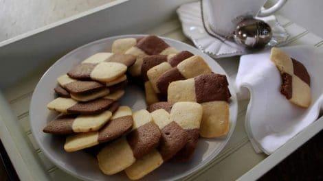 Biscuits Damiers de Noël au thermomix