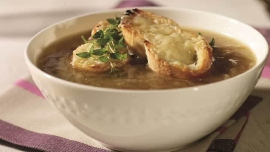 Soupe à l'oignon recette weight watchers