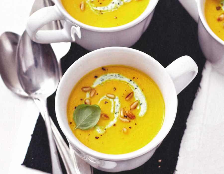 Soupe onctueuse de carottes au thermomix