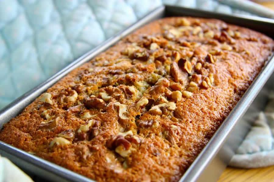 Cake aux bananes et noix au thermomix