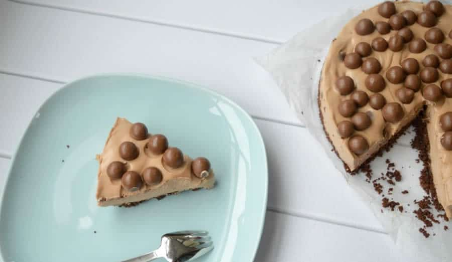 Cheesecake au mars et maltesers au thermomix