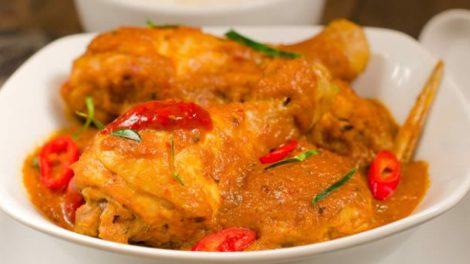 Poulet au curry au cookeo