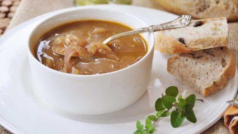 Soupe à l'oignon au cookeo