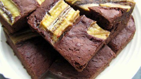 Brownie aux bananes WW