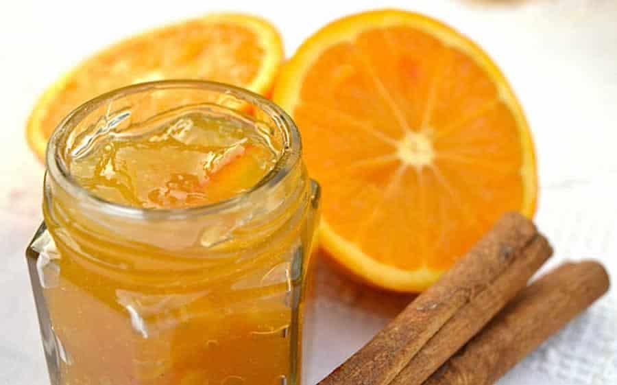 Confiture d'orange à la cannelle au thermomix