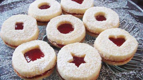 Biscuits sablés à la confiture au thermomix