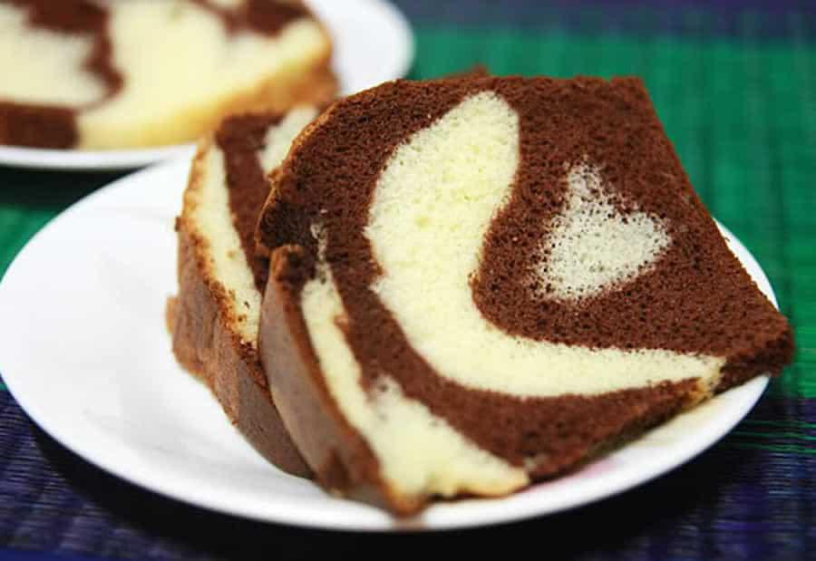 Cake marbré au chocolat moelleux au thermomix