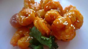 Crevettes au miel au thermomix