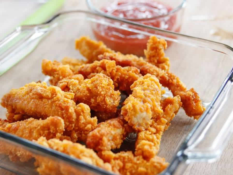 Croustillants de poulet au thermomix