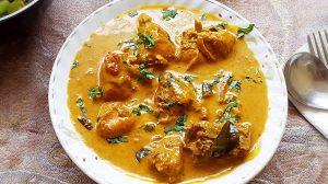 Poulet au curry et lait de coco au thermomix