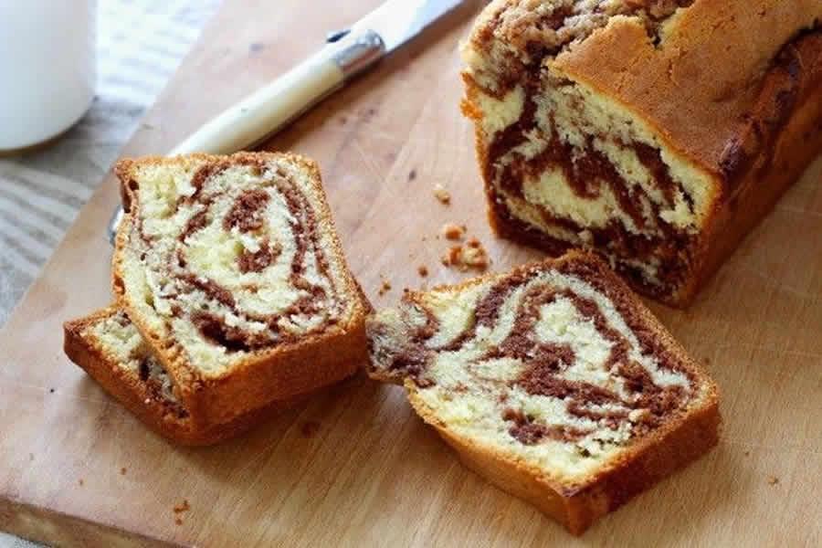 Cake marbré au Nutella au thermomix
