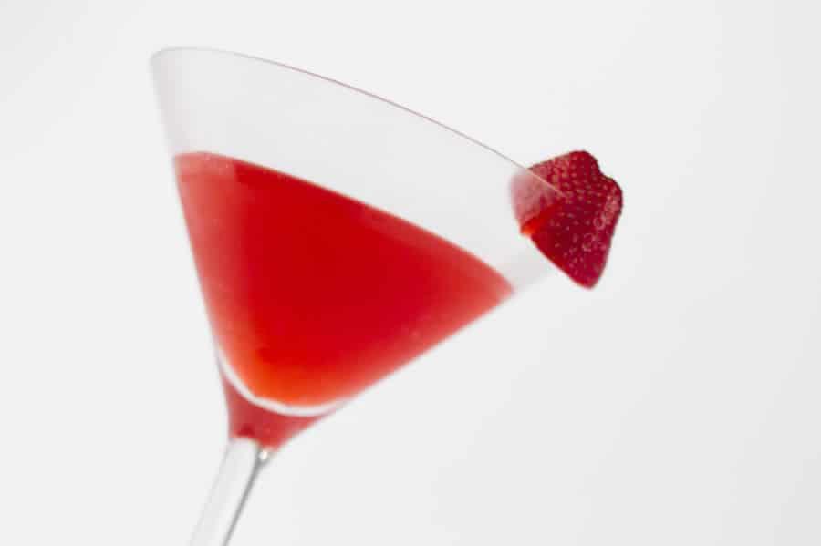 Cocktail aux Fraises au thermomix