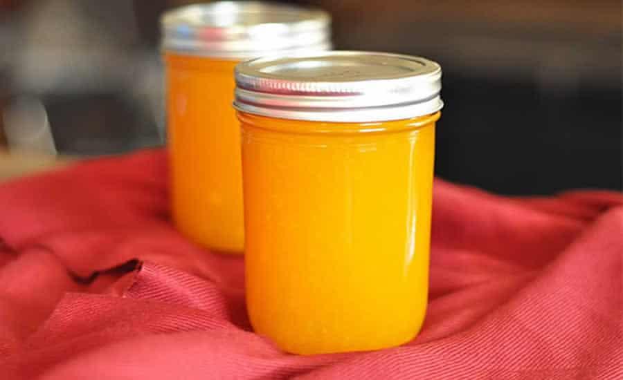 Confiture Orange et Mangue au thermomix