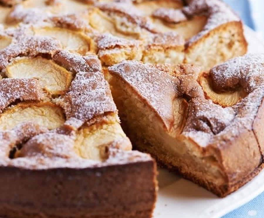 Gâteau normand aux pommes au thermomix