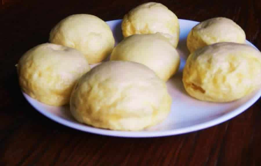 Kluski na parze ou Petits pains polonais au thermomix