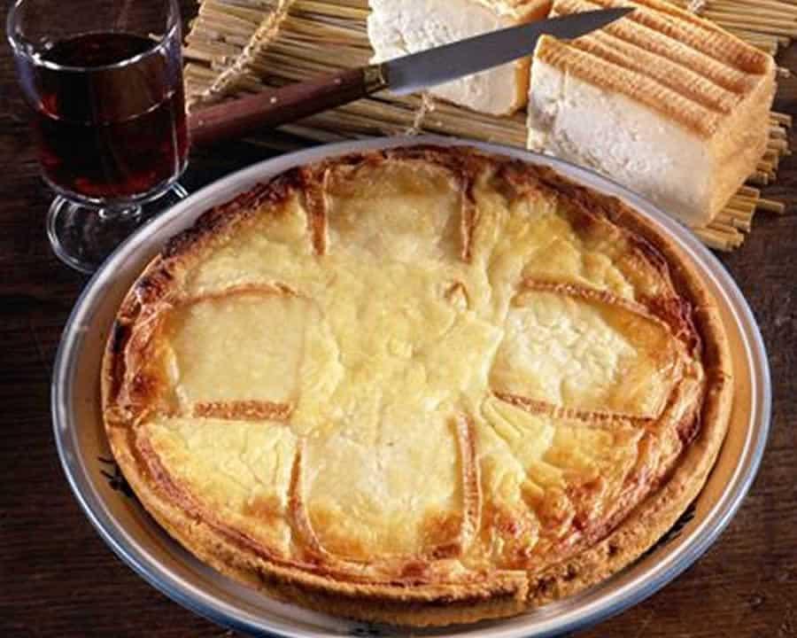 La tarte au maroilles du Nord au thermomix