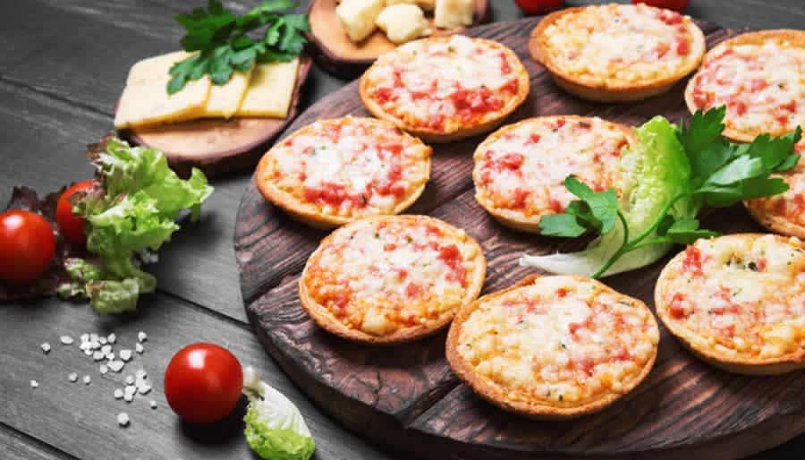 Mini pizzas apéritives au thermomix