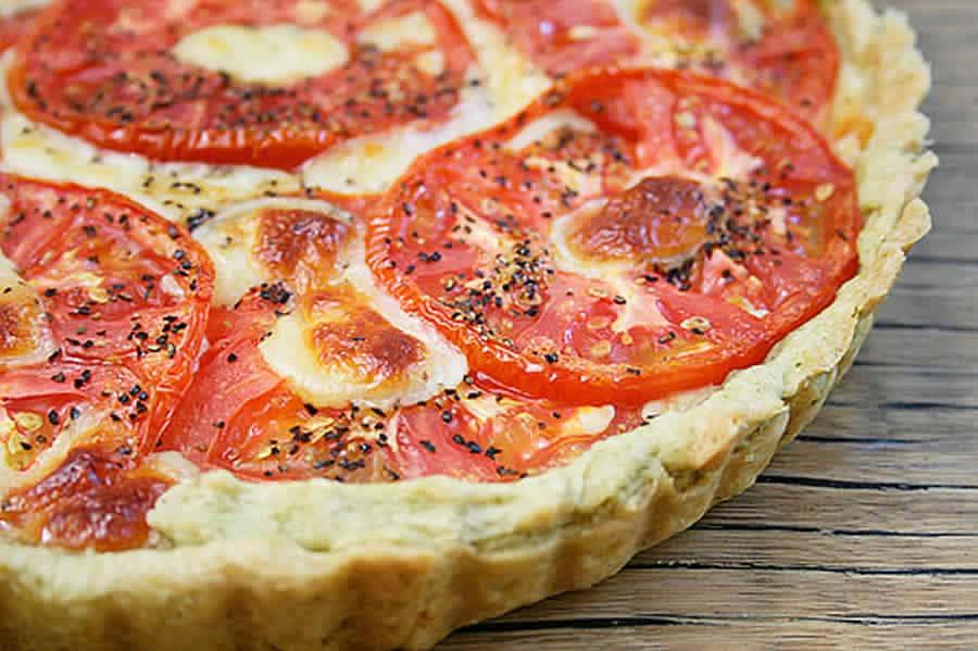 Tarte aux tomates et mozzarella au thermomix