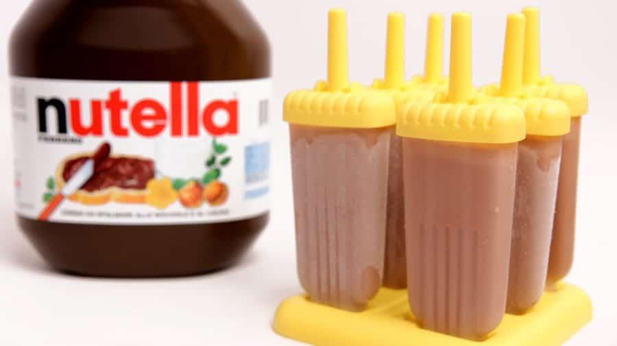 Bâtonnets glacés au Nutella au thermomix