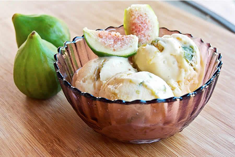 Crème glacée aux figues au thermomix