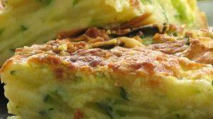 Gâteau invisible courgettes et chorizo au thermomix