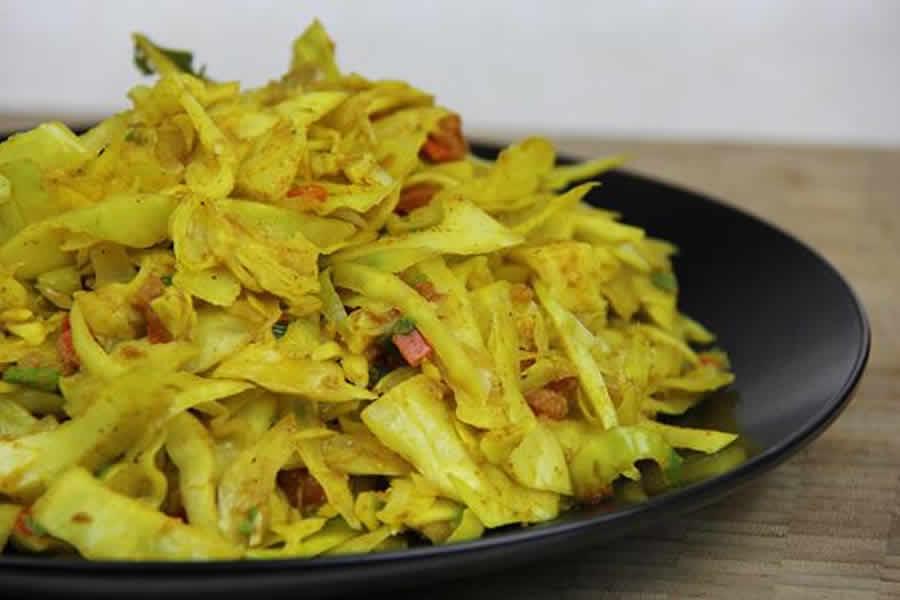 Salade de chou au curry au thermomix