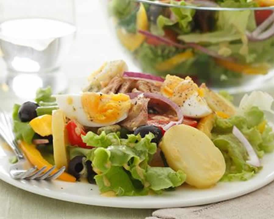 Salade niçoise Recette WW