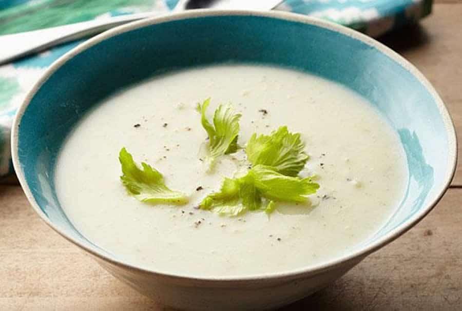 Soupe de poireaux au Boursin au thermomix