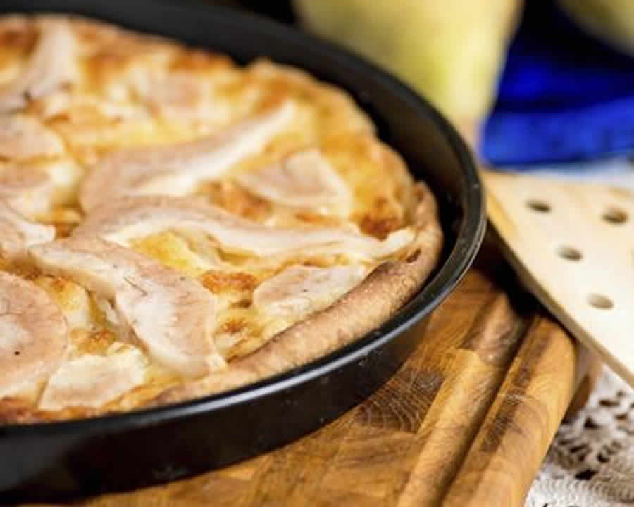 Tarte aux endives et fromage de chèvre au thermomix