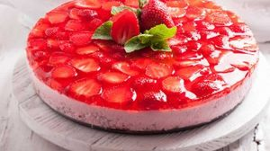 Bavarois fraise au Thermomix