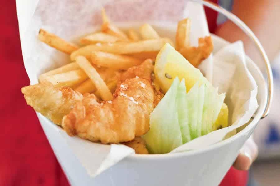Fish & chips Recette WW