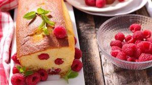 Gâteau léger à la framboise au thermomix