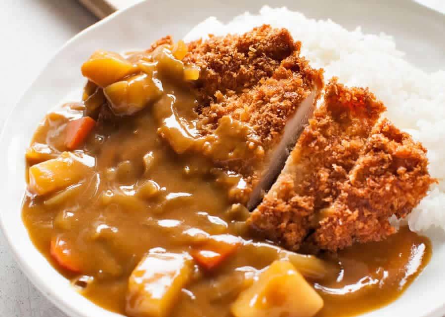 Katsu curry japonais au poulet au thermomix